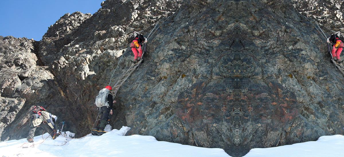 Bujuku (3977m) to Elena Hut (4541m)